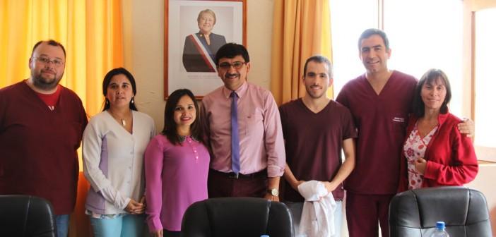 Alcalde Dio La Bienvenida A Nuevos Médicos y Tecnólogo Medico Que Se Unen Al Trabajo Del Cesfam Las Cabras