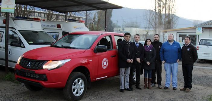 Alcalde hace entrega vehículo para acercar la salud a Vecinos de localidades rurales